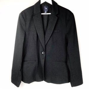 Gap Lined Black Blazer